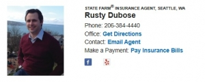 State Farm Seattle   Agent Rusty Dubose